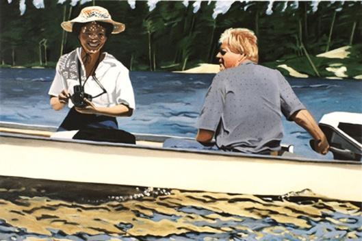 """On Jenny Lake,"" 1989"